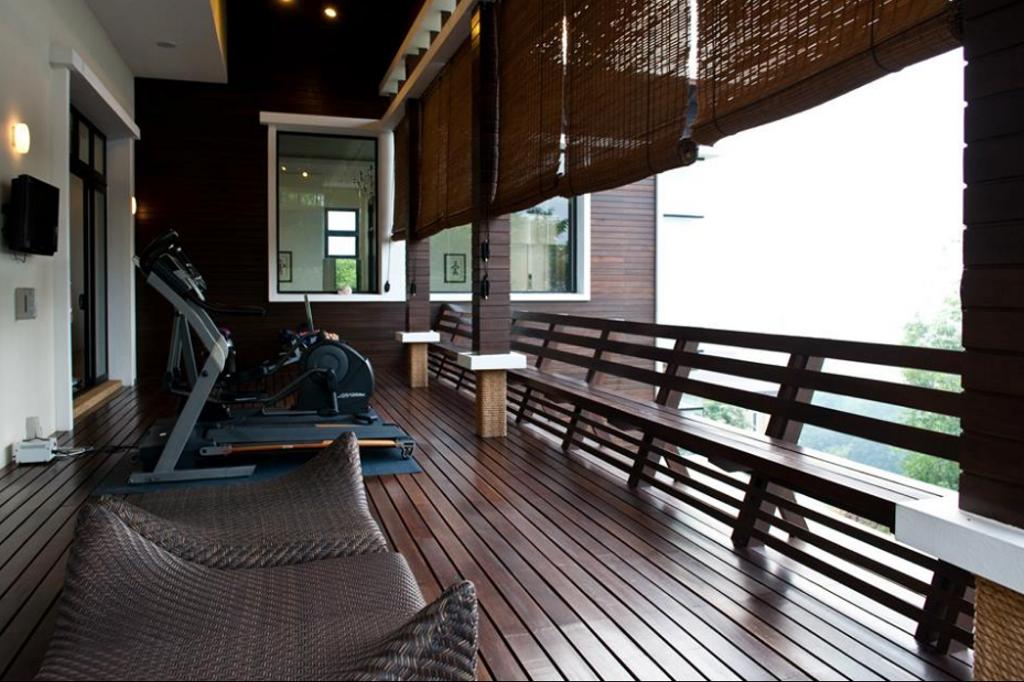 Modern, Landed, Balcony, Lee Residence, Interior Designer, EDI: Essential Design Integrated, Industrial