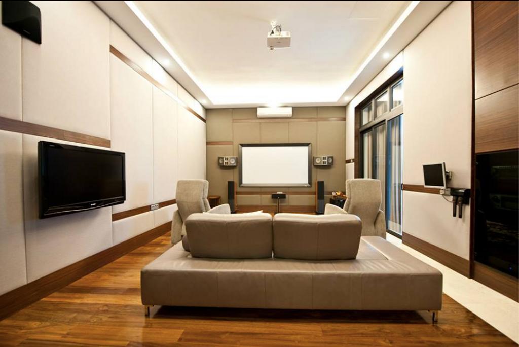 Modern, Landed, Living Room, Lee Residence, Interior Designer, EDI: Essential Design Integrated, Industrial