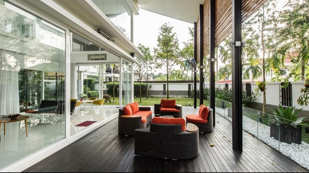 Modern, Landed, Garden, M Residence, Bukit Jelutong, Interior Designer, EDI: Essential Design Integrated, Industrial
