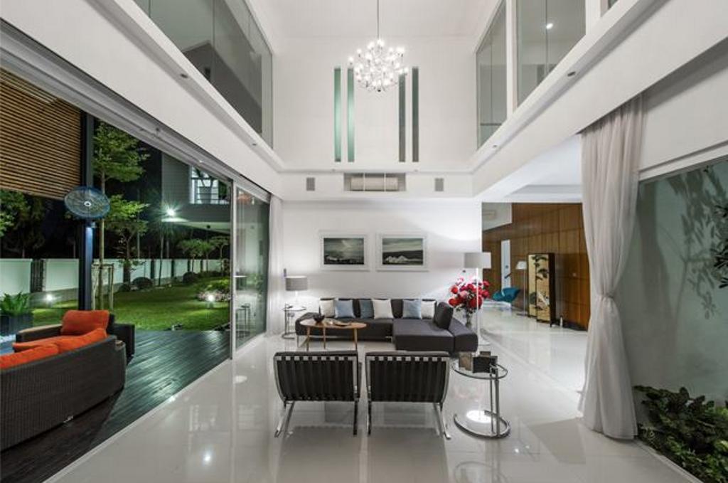 Modern, Landed, Dining Room, M Residence, Bukit Jelutong, Interior Designer, EDI: Essential Design Integrated, Industrial