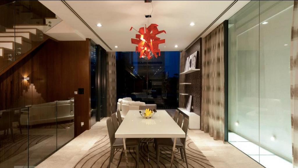 Modern, Landed, Dining Room, N residence, Interior Designer, EDI: Essential Design Integrated, Contemporary