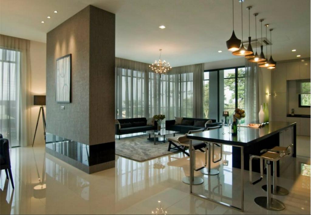 Modern, Landed, Dining Room, Pavilion Suites, Taiping, Interior Designer, EDI: Essential Design Integrated, Contemporary