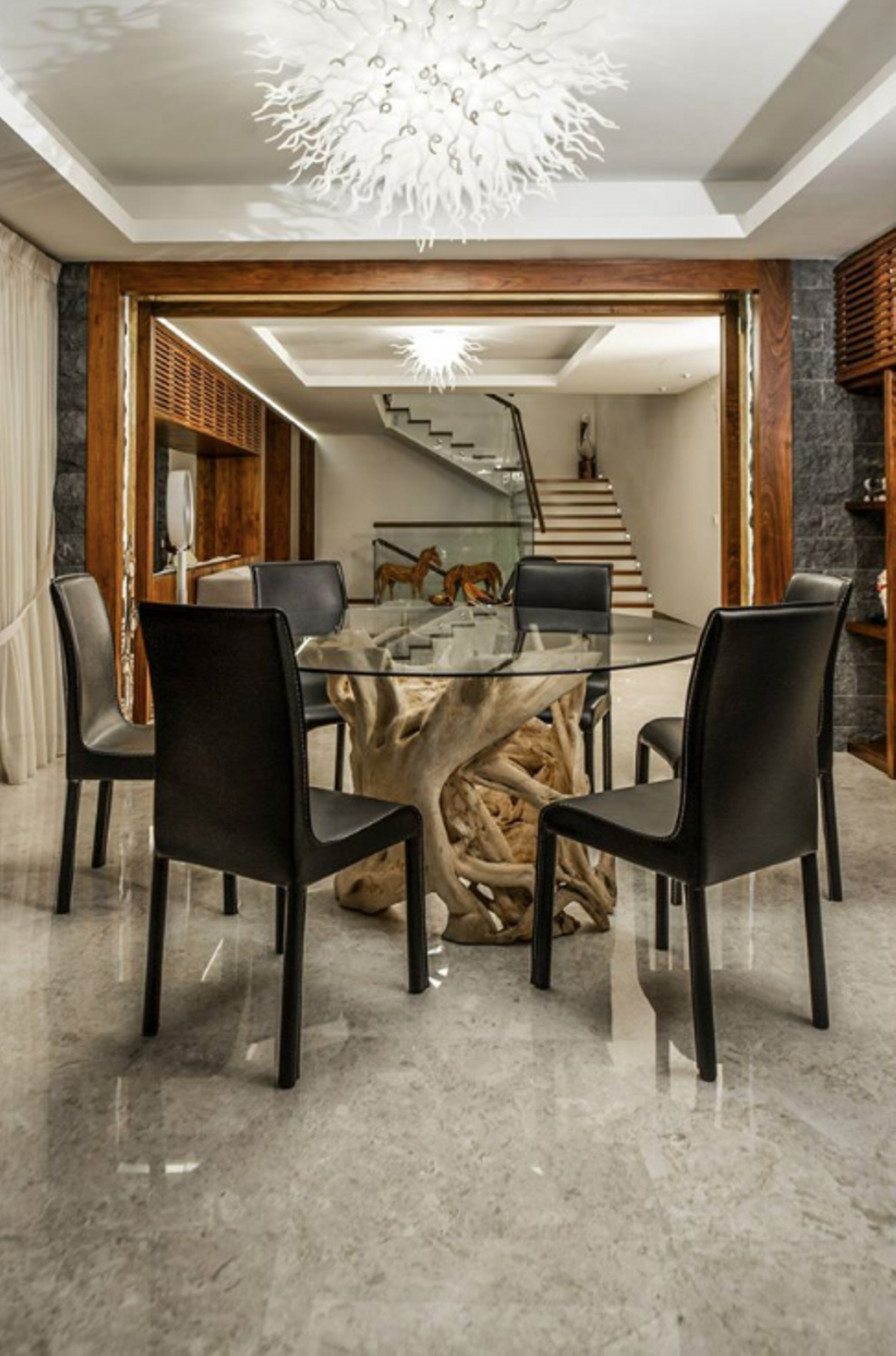 Modern, Landed, Dining Room, SS24 Semi D Renovation, Interior Designer, EDI: Essential Design Integrated, Contemporary