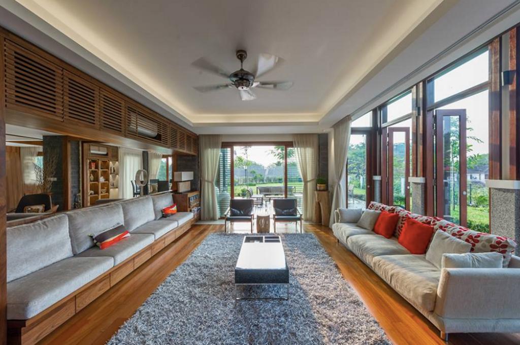 Modern, Landed, Living Room, SS24 Semi D Renovation, Interior Designer, EDI: Essential Design Integrated, Contemporary