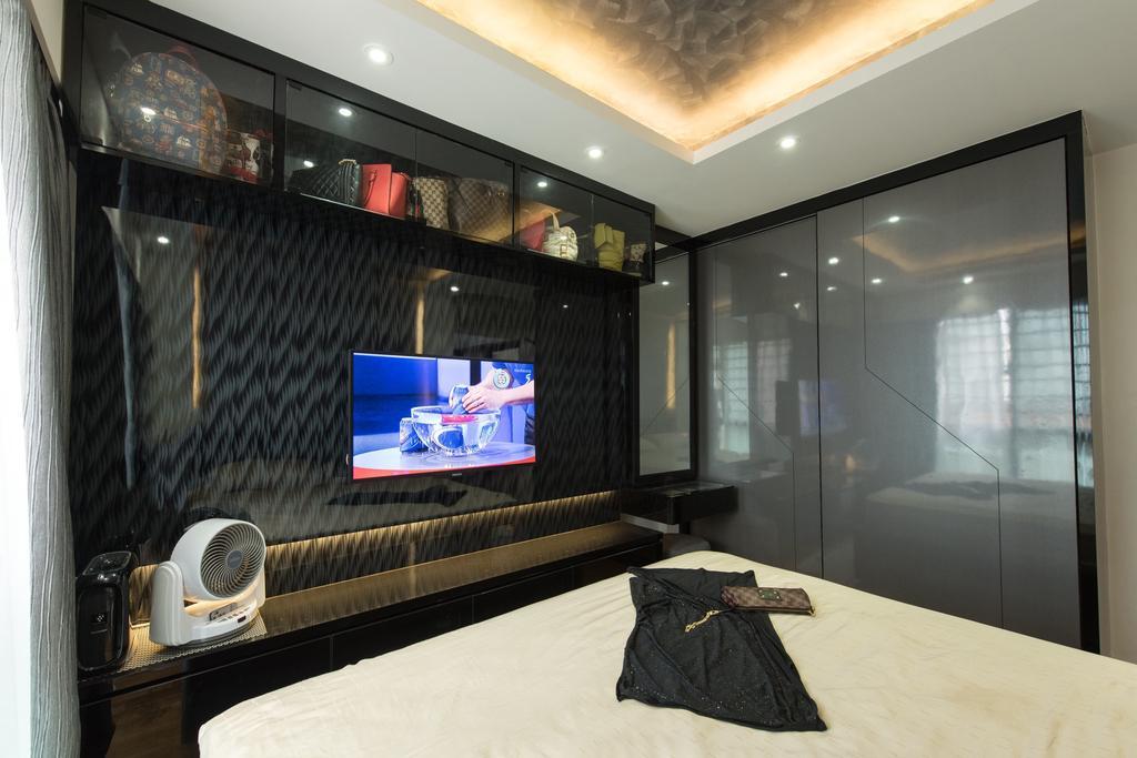 Traditional, HDB, Bedroom, Punggol Drive, Interior Designer, Yujia Interior Design