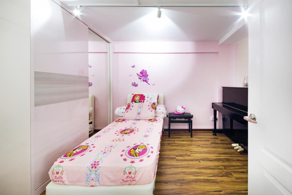 Modern, HDB, Bedroom, Haig Road, Interior Designer, Dap Atelier, Indoors, Interior Design, Bed, Furniture, Room