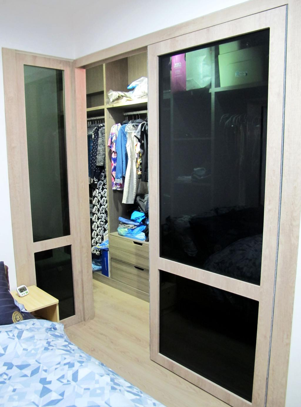 Modern, HDB, Bedroom, Kim Tian, Interior Designer, Colourbox Interior, Blackboard, Sink