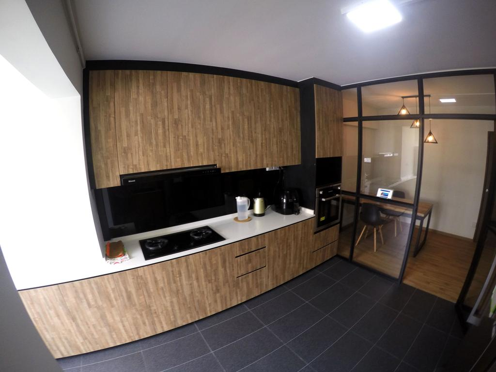 Modern, HDB, Kitchen, Pasir Ris Drive 6, Interior Designer, Colourbox Interior