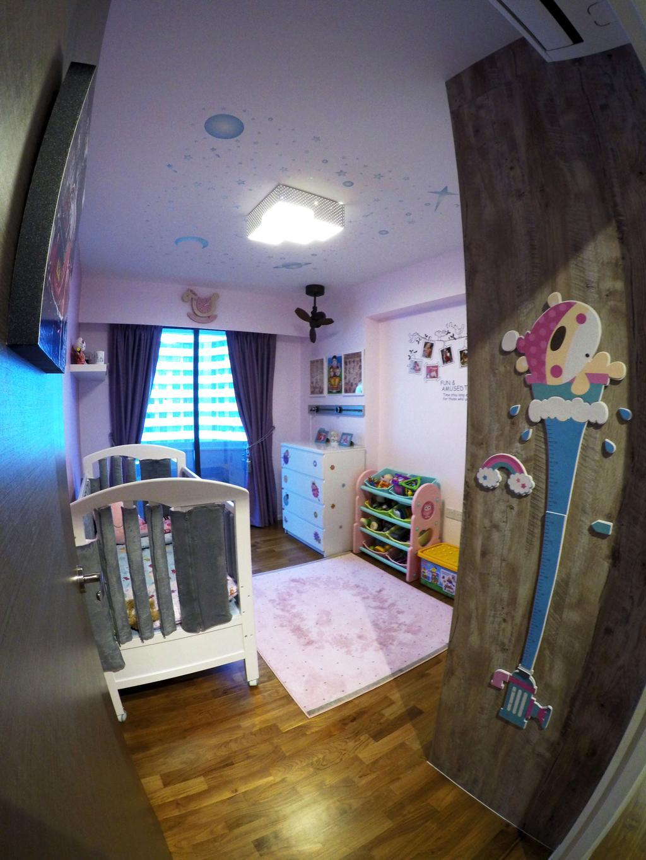 Modern, HDB, Bedroom, Punggol Waterway Terrace, Interior Designer, Colourbox Interior