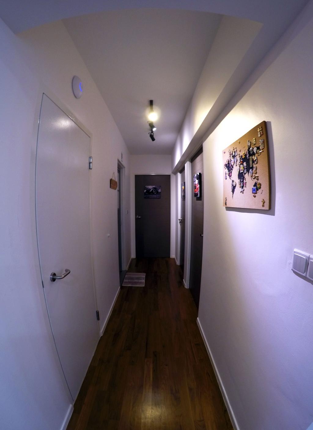 Modern, HDB, Punggol Waterway Terrace, Interior Designer, Colourbox Interior, Flooring