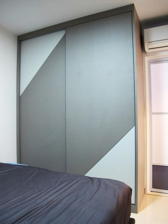 Modern, HDB, Bedroom, Rivervale Crescent, Interior Designer, Colourbox Interior
