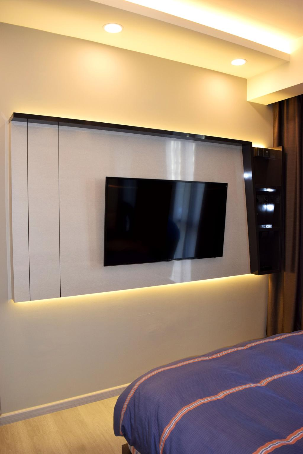 Modern, HDB, The Luxurie, Interior Designer, Colourbox Interior