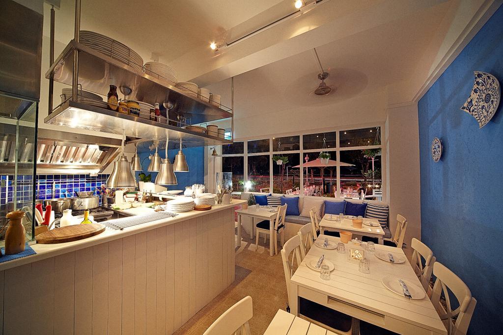 Blu Kouzina, Commercial, Interior Designer, Edge Interior, Eclectic, Wall Art