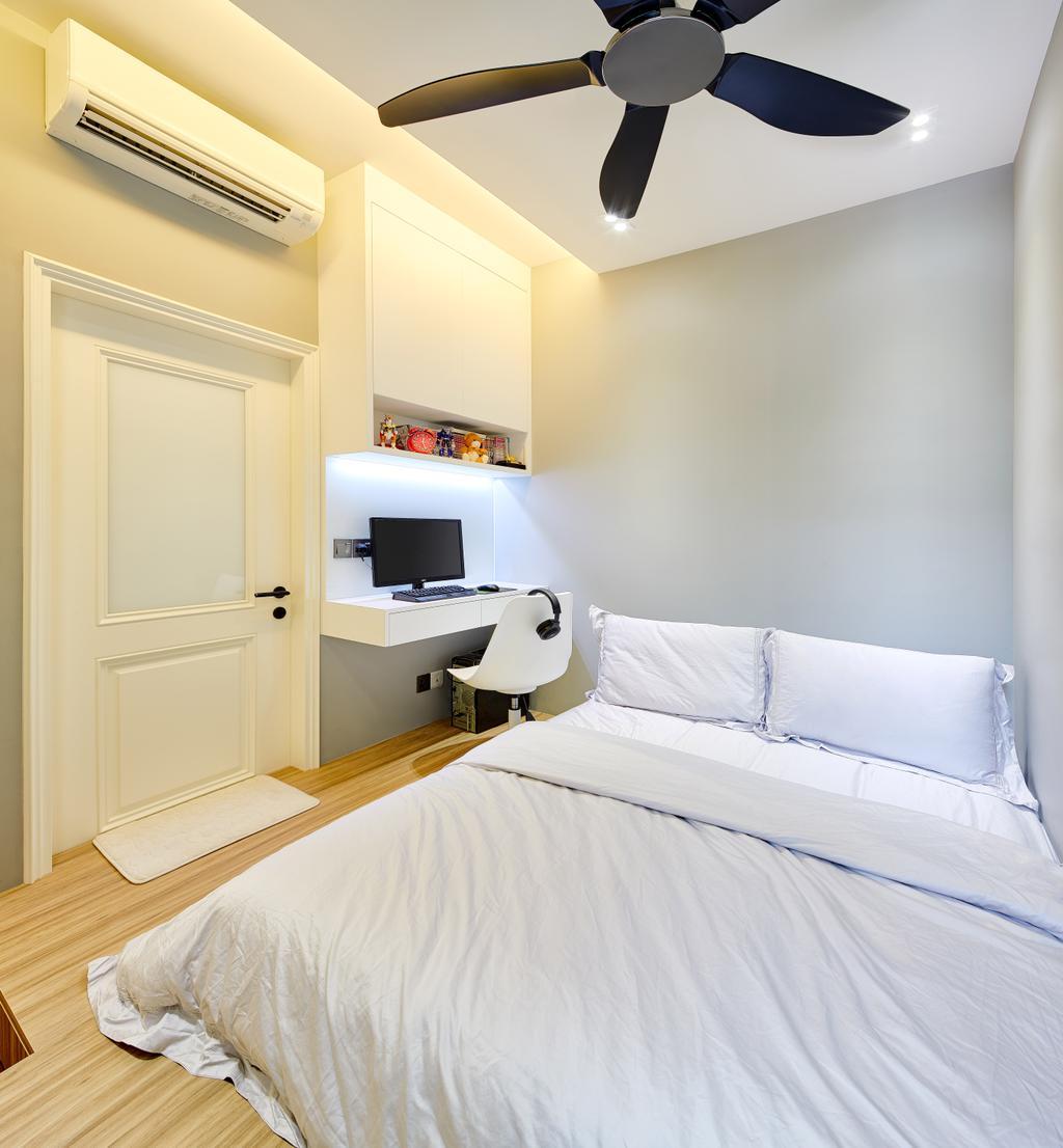 Modern, Condo, Bedroom, The Nautical, Interior Designer, Absolook Interior Design, Minimalistic, Bed, Furniture, Indoors, Interior Design, Room