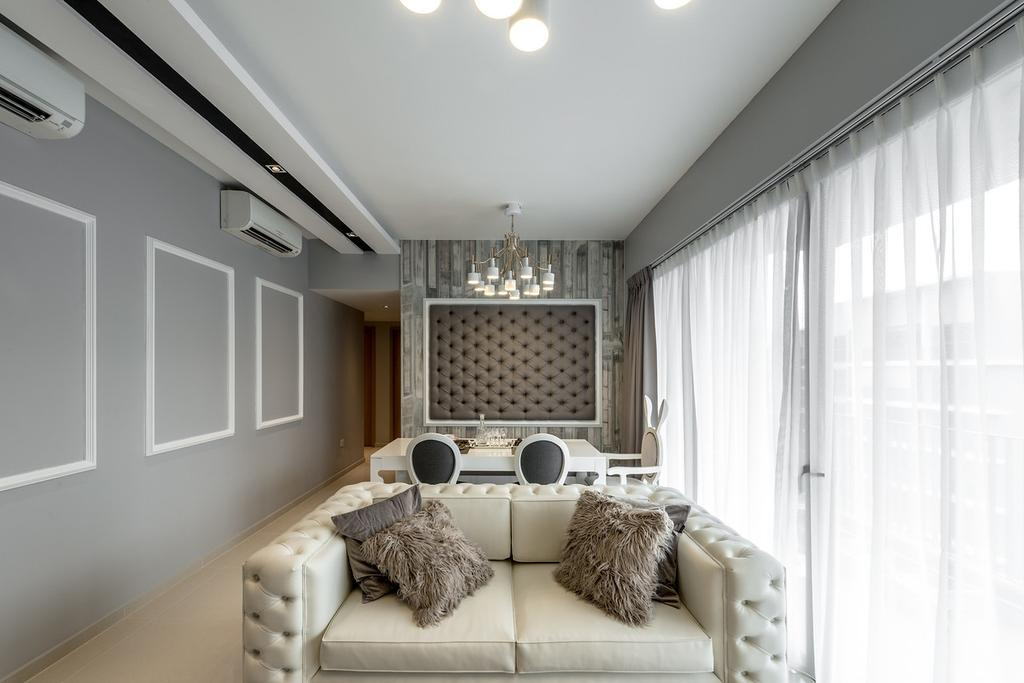 Vintage, Condo, Living Room, Twin Fountains, Interior Designer, Mr Shopper Studio, Bedroom, Indoors, Interior Design, Room