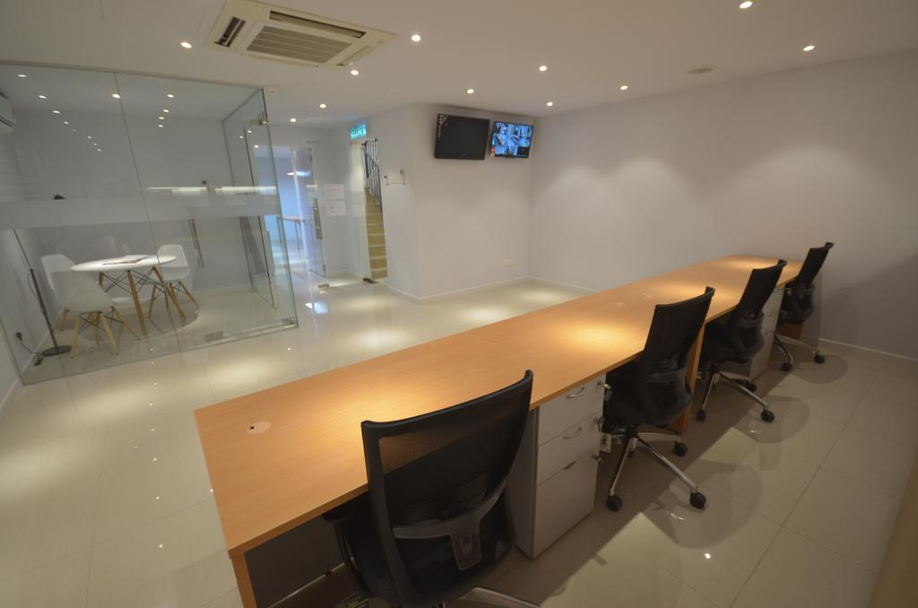 Super Education Group @ Taman Putra, Commercial, Interior Designer, Anwill Design Sdn Bhd, Modern, Conference Room, Indoors, Meeting Room, Room