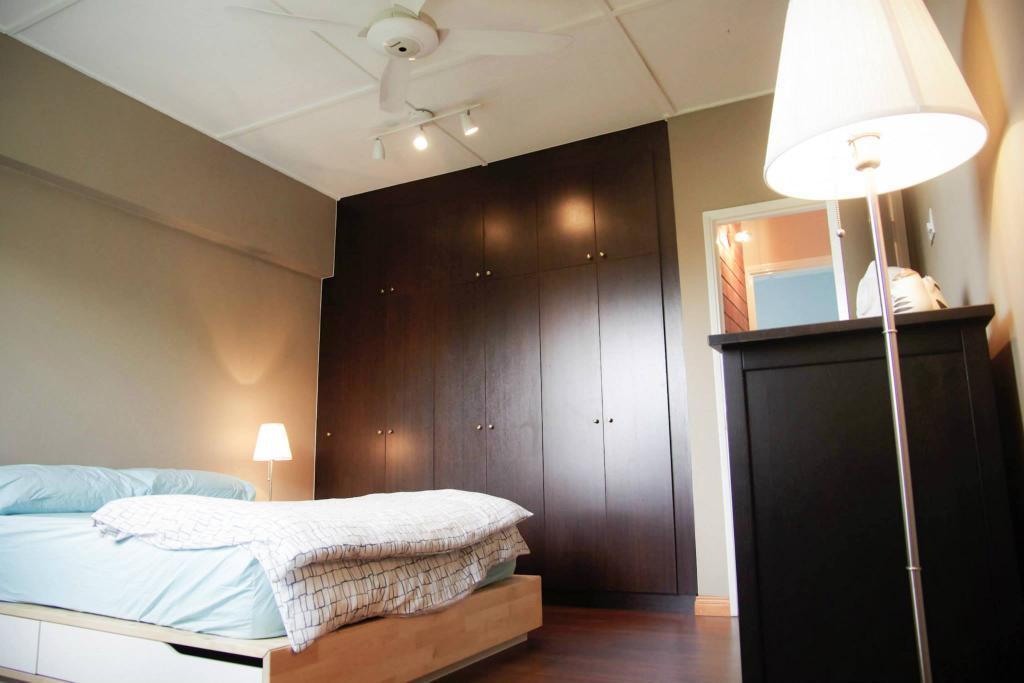 Modern, Condo, Kuchai Brem Park, Kuchai Lama, Interior Designer, Anwill Design Sdn Bhd, Lighting, Bed, Furniture, Bedroom, Indoors, Interior Design, Room