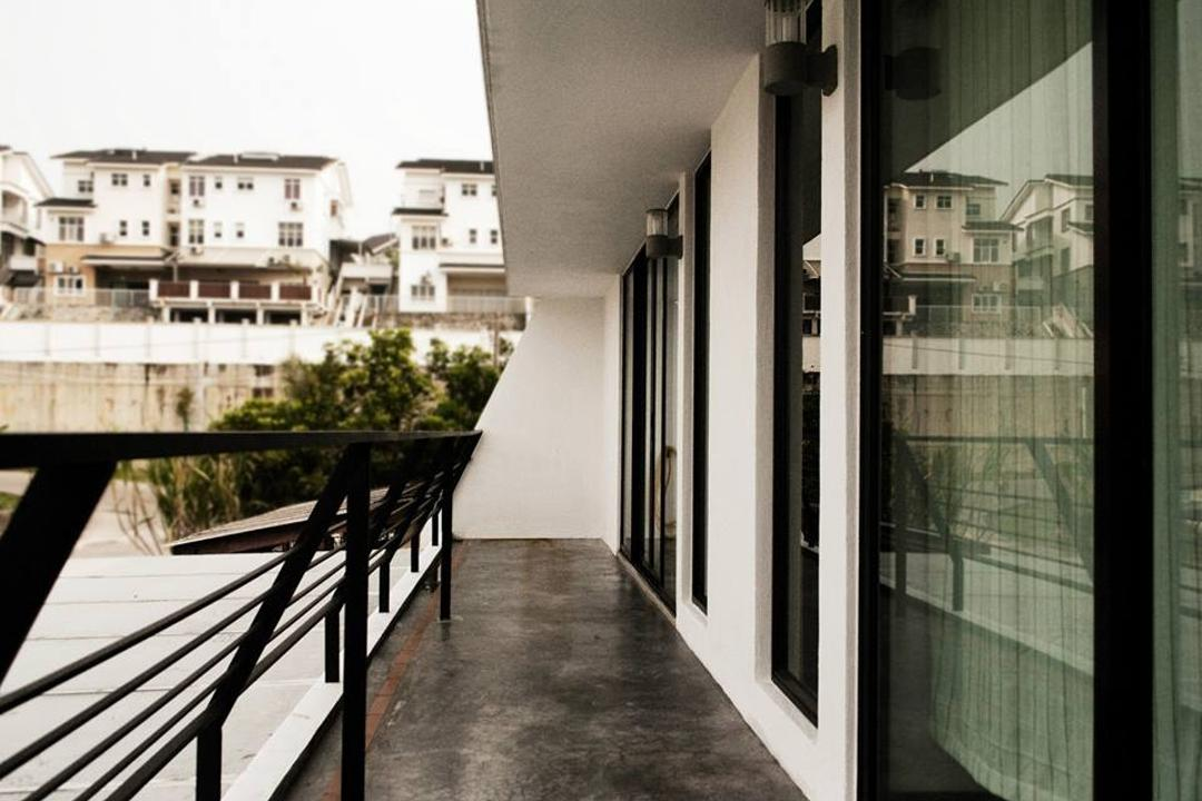 Double Storey Extension, Anwill Design Sdn Bhd, Modern, Balcony, Landed, Building, House, Housing, Villa, Terrace, Banister, Handrail