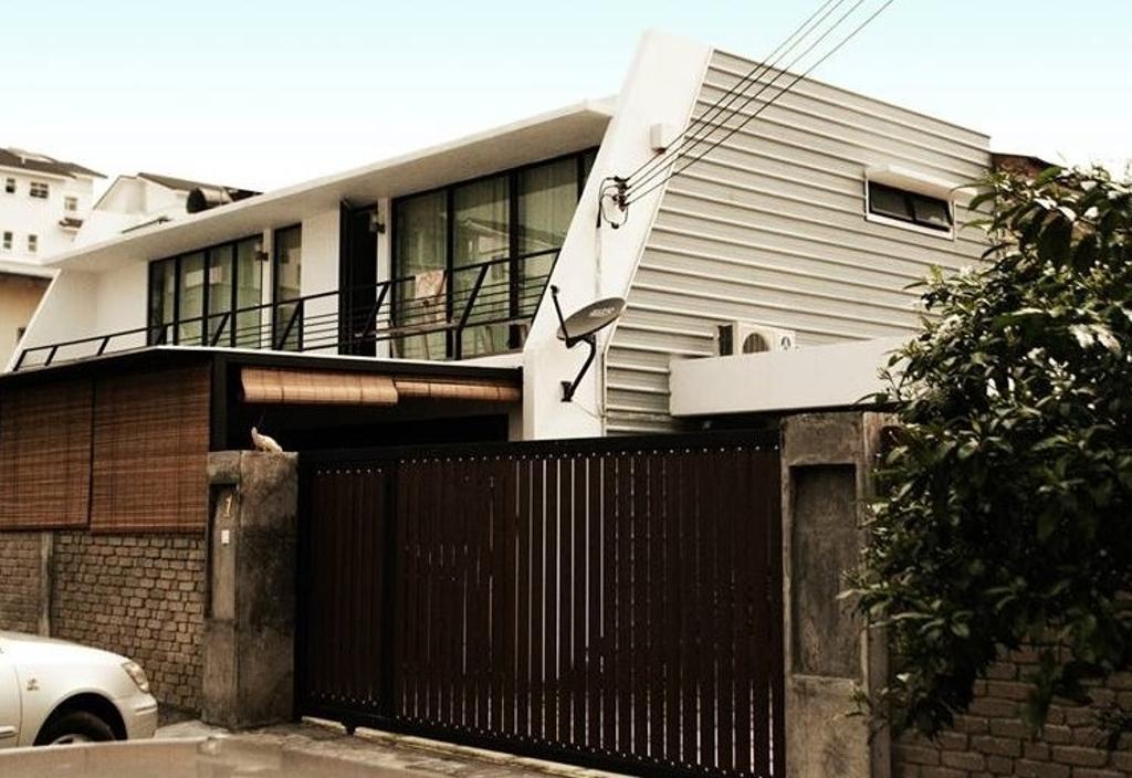 Modern, Landed, Double Storey Extension, Interior Designer, Anwill Design Sdn Bhd, Gate, Building, Neighborhood, Urban