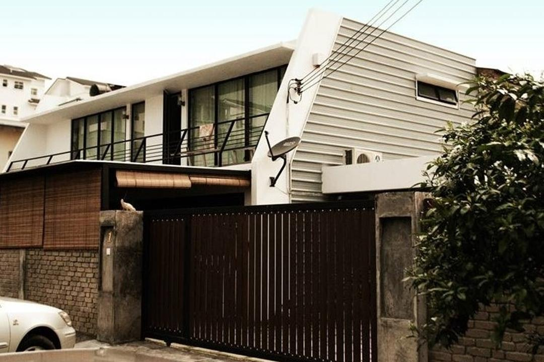 Double Storey Extension, Anwill Design Sdn Bhd, Modern, Landed, Gate, Building, Neighborhood, Urban