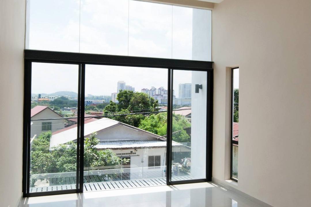 Bungalow Construction @ Pekan Serdang Living Room Interior Design 7