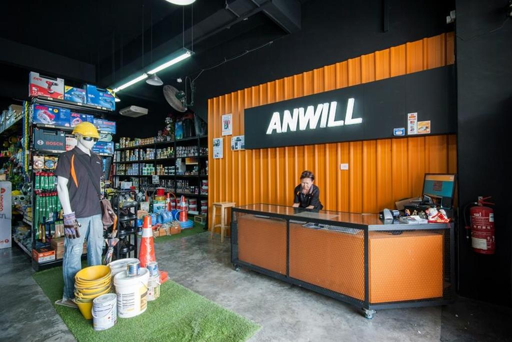 Anwill Concept Store, Sungai Long, Commercial, Interior Designer, Anwill Design Sdn Bhd, Modern, Furniture, Reception, Shop