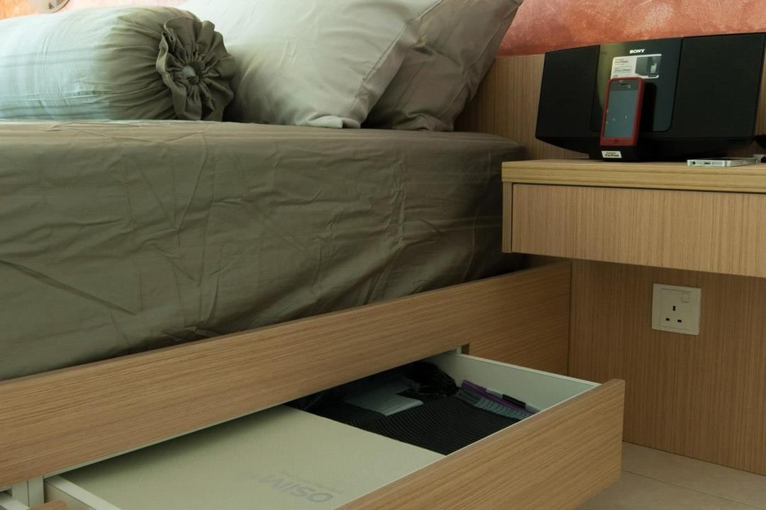 Changkat View, Mont Kiara, Anwill Design Sdn Bhd, Modern, Bedroom, Condo, Box