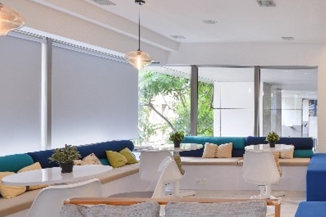 Is Mi Cafe, In SPACE Concept Design, Modern, Commercial, Flora, Plant, Vine