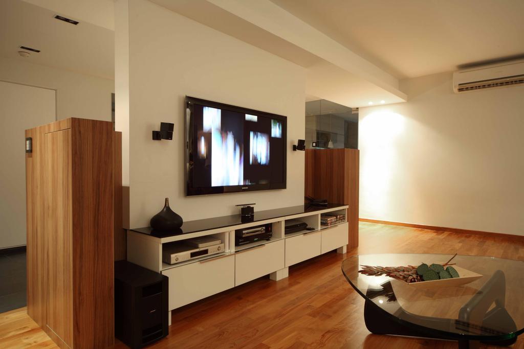 Contemporary, HDB, Living Room, Bishan Street 13 (Block 170), Interior Designer, Design by Fifteen Pte Ltd