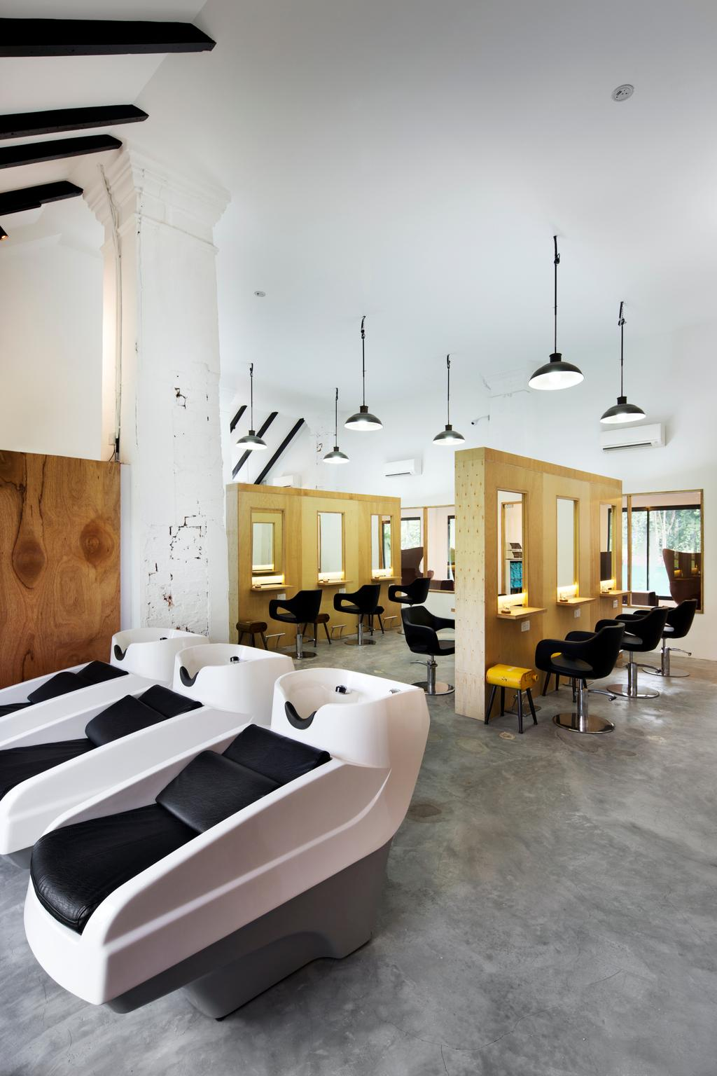 Loewen road, Commercial, Interior Designer, Design by Fifteen Pte Ltd, Contemporary, Indoors, Interior Design, Sink, Dining Room, Room, Bathroom