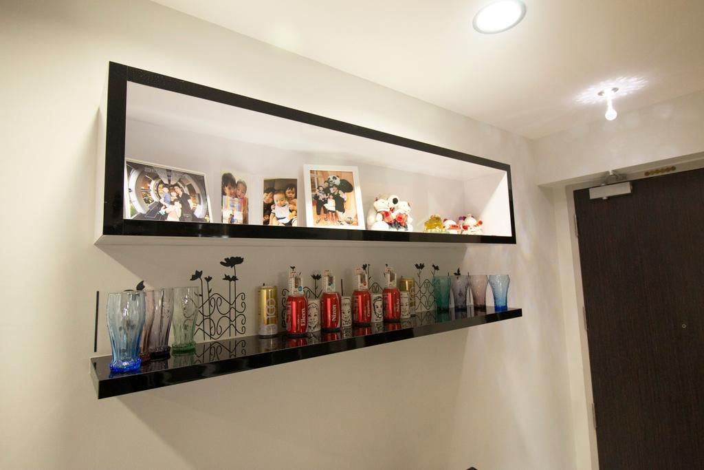 Modern, HDB, Living Room, Clementi Avenue 4, Interior Designer, ChanInteriors, Shelf