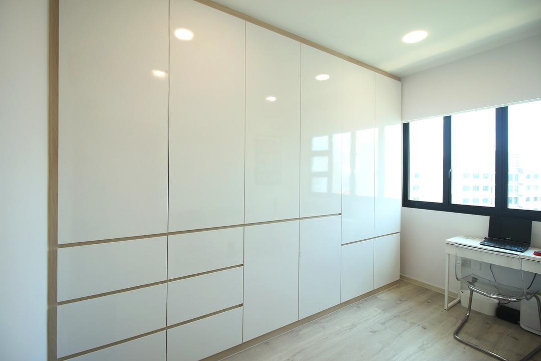 Compassvale Crescent (Block 293D), ChanInteriors, Modern, Bedroom, HDB, Machine, Printer