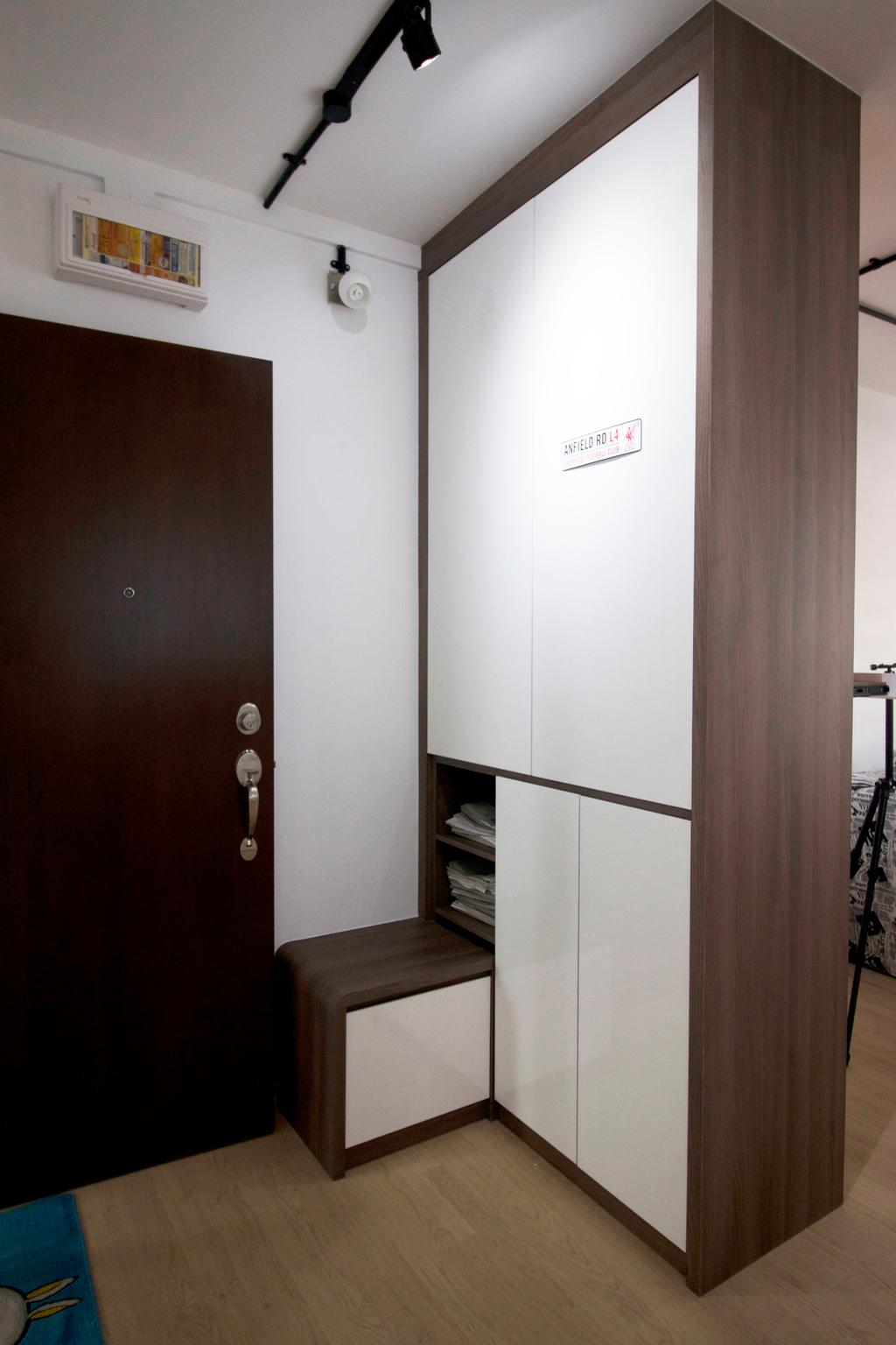 Modern, HDB, Living Room, Yishun Street 81, Interior Designer, ChanInteriors