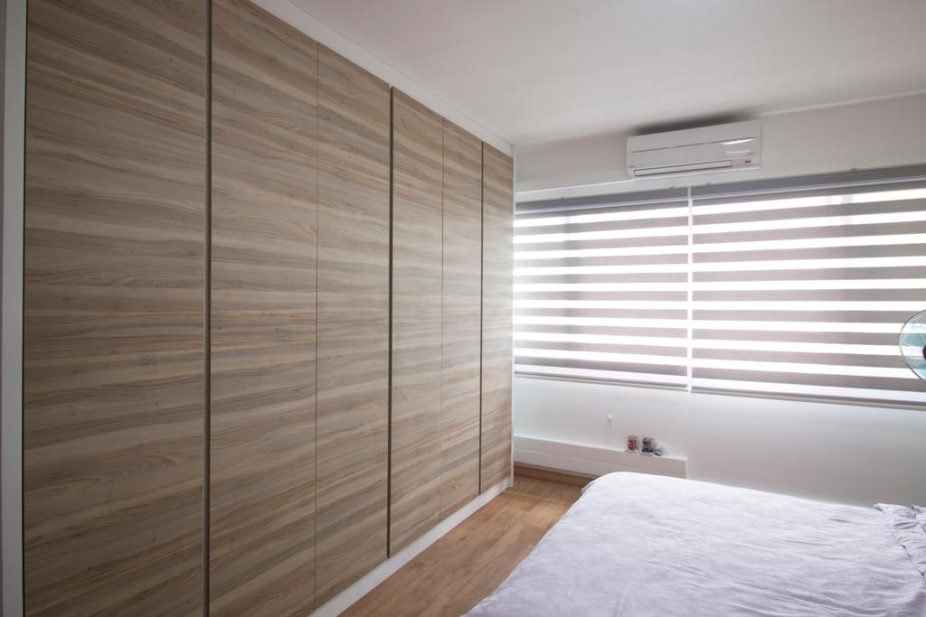 Modern, HDB, Bedroom, Yishun Street 81, Interior Designer, ChanInteriors