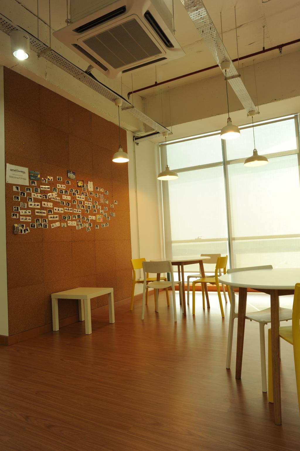 Vertical - Gamefounder, Commercial, Interior Designer, IQI Concept Interior Design & Renovation, Modern, Bar Stool, Furniture, Chair, Dining Room, Indoors, Interior Design, Room, Dining Table, Table