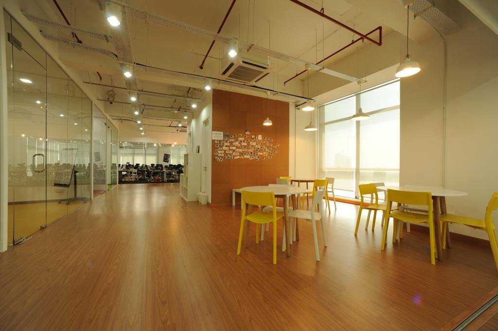 Vertical - Gamefounder, Commercial, Interior Designer, IQI Concept Interior Design & Renovation, Modern, Dining Table, Furniture, Table, Flooring, Floor, Chair
