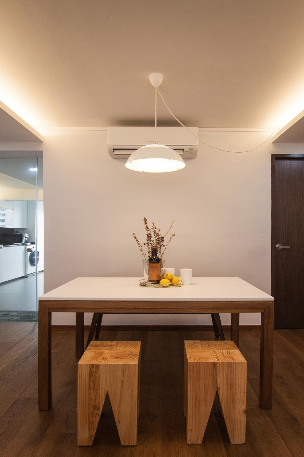 Modern, HDB, Saint George Road, Interior Designer, Space Atelier