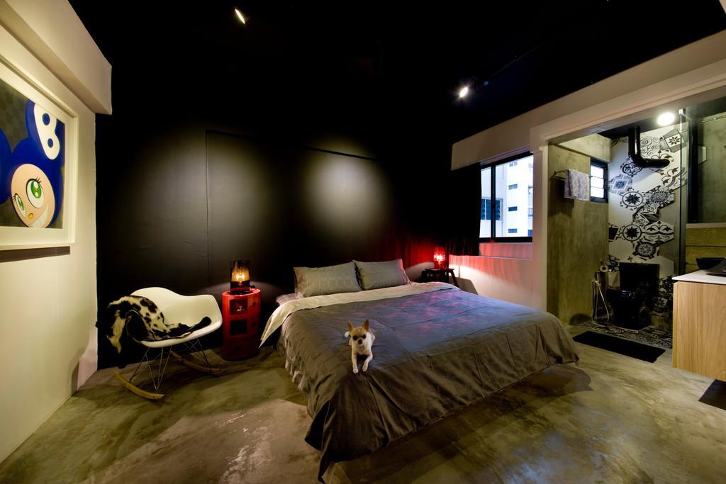 Contemporary, HDB, Bedroom, Serangoon Ave 4, Interior Designer, Edge Interior, Chair, Furniture, Bed, Building, Housing, Indoors