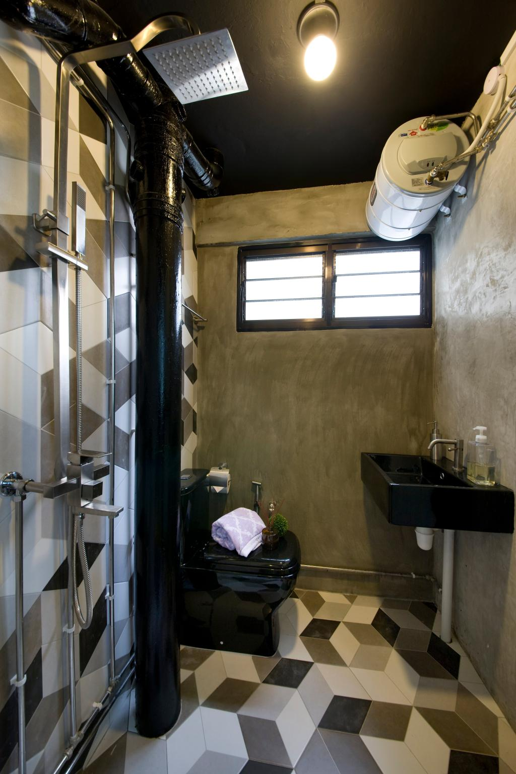 Contemporary, HDB, Bathroom, Serangoon Ave 4, Interior Designer, Edge Interior