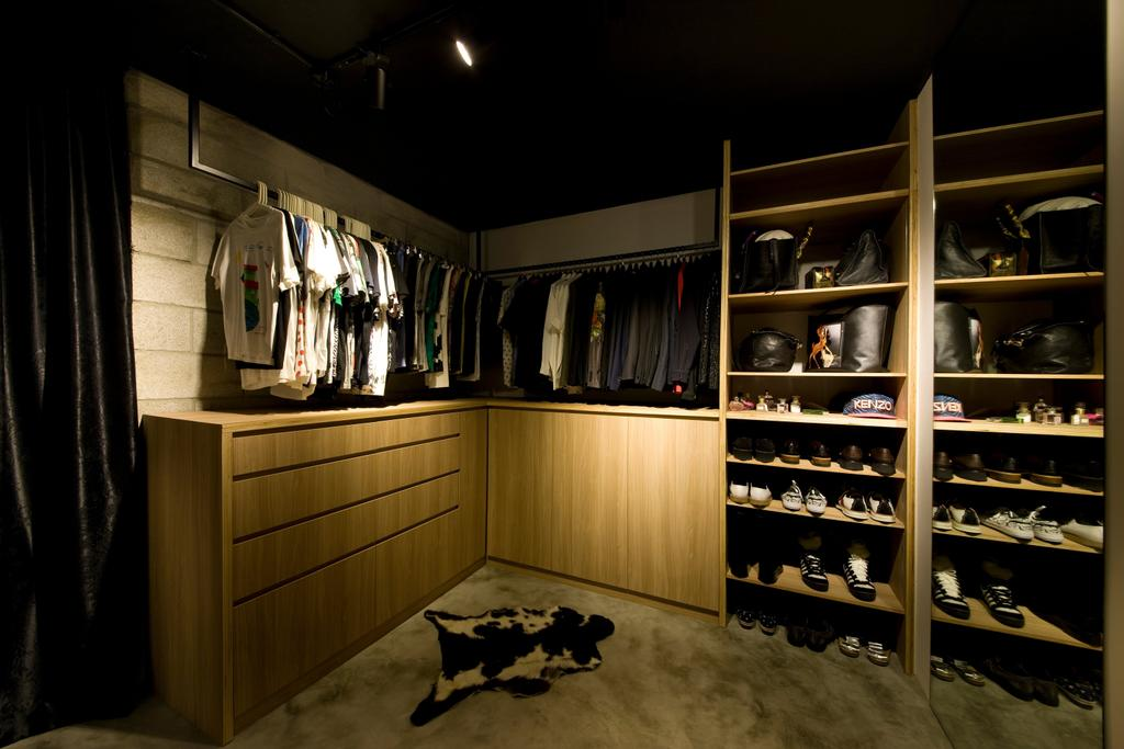Contemporary, HDB, Bedroom, Serangoon Ave 4, Interior Designer, Edge Interior, Corridor