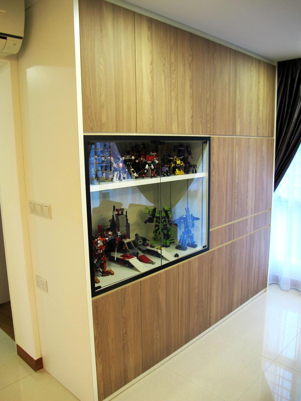 Scandinavian, HDB, Living Room, Compassville Ancilla, Interior Designer, Colourbox Interior, Flora, Jar, Plant, Potted Plant, Pottery, Vase