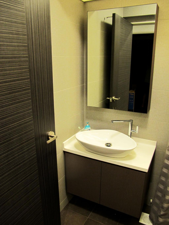 Modern, HDB, Bathroom, Anchorvale Harvest, Interior Designer, Colourbox Interior, Sink, Indoors, Interior Design, Room
