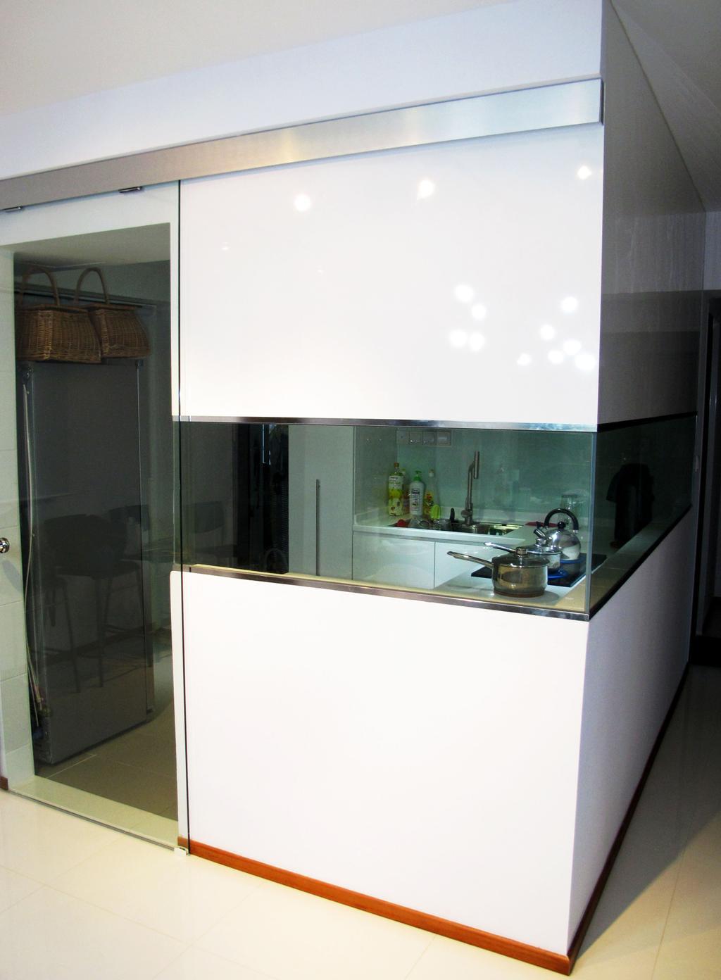 Contemporary, HDB, Kitchen, The Pinnacle@Duxton, Interior Designer, Colourbox Interior