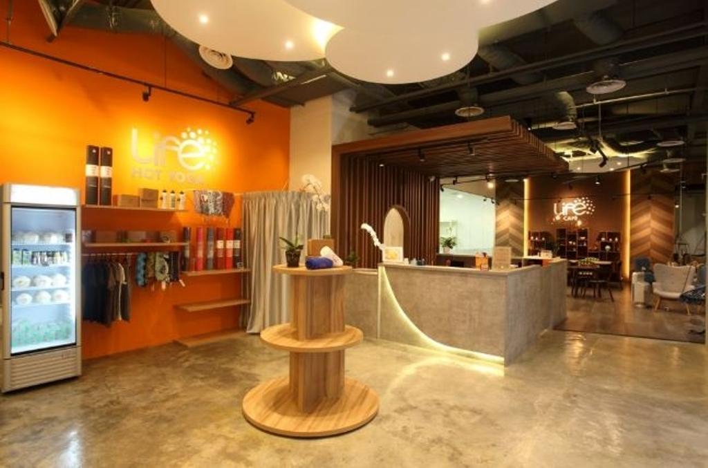 Life Yoga YCC, Commercial, Interior Designer, Nice Style Refurbishment, Electronics, Entertainment Center