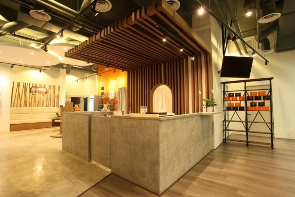 Life Yoga YCC, Commercial, Interior Designer, Nice Style Refurbishment, Furniture, Reception