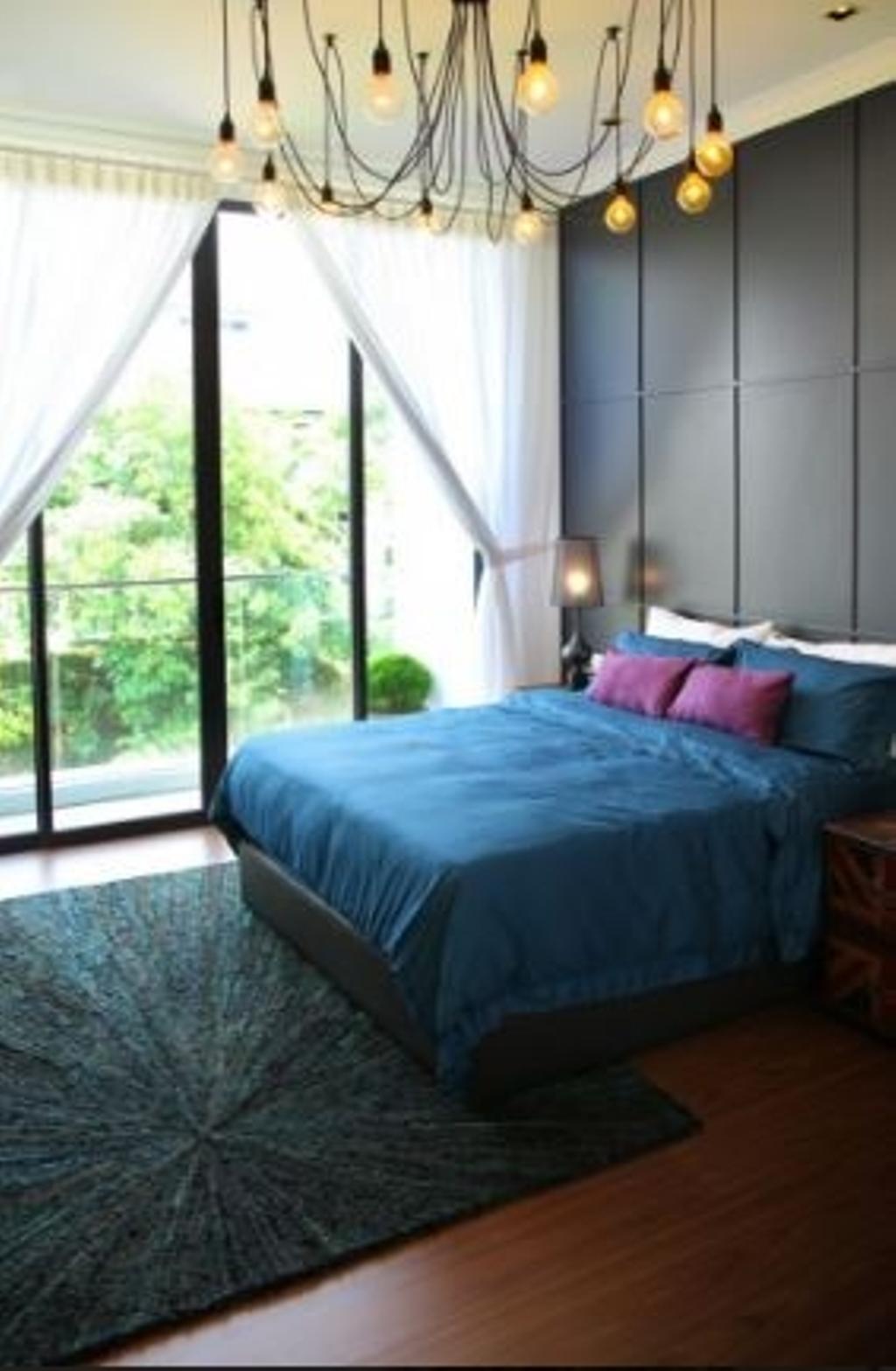 Modern, Condo, Bedroom, Mansion Park, Interior Designer, Nice Style Refurbishment, Couch, Furniture, Window
