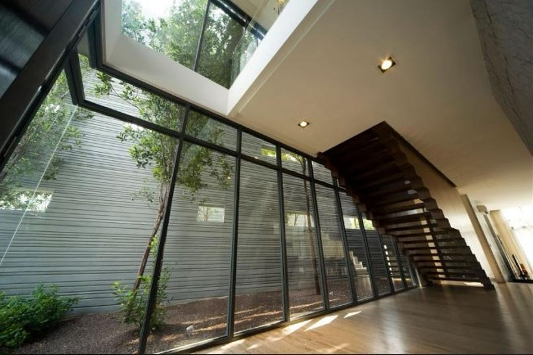 Mirage Villa House, Nice Style Refurbishment, Modern, Landed, Architecture, Building, Skylight, Window, Fence, Flora, Hedge, Plant