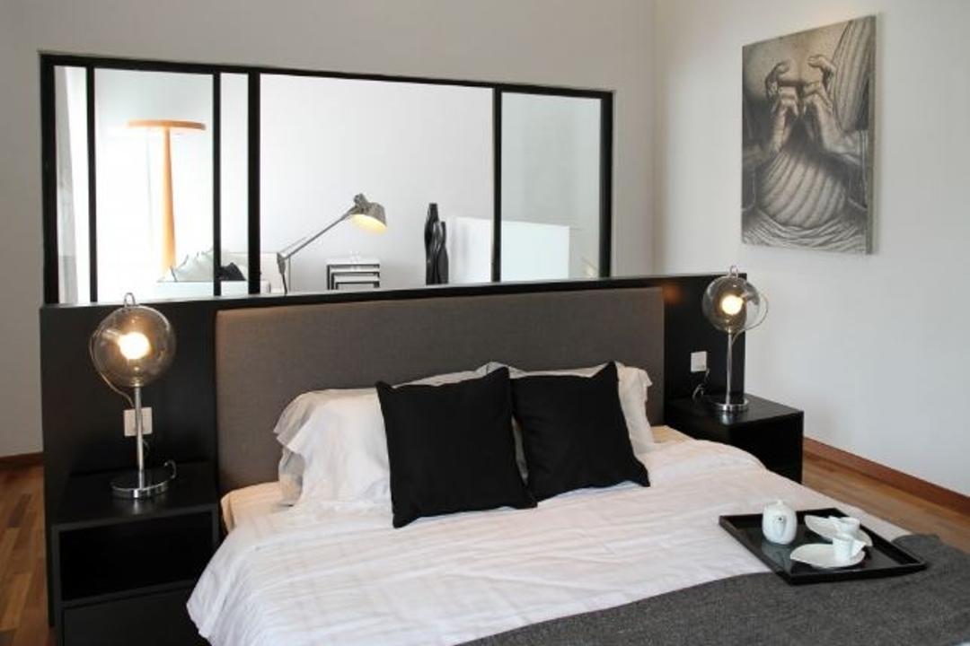Sutera Damansara, Nice Style Refurbishment, Modern, Bedroom, Condo, Art, Drawing, Sketch, Shelf