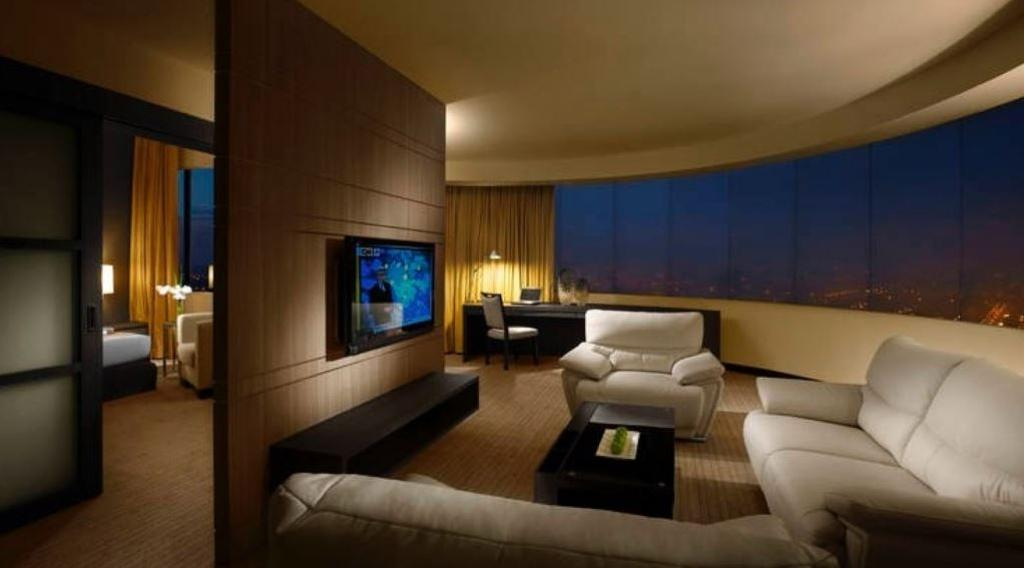Premiere Hotel Bukit Tinggi, Commercial, Interior Designer, Nice Style Refurbishment, Modern, Couch, Furniture, Indoors, Room, Electronics, Entertainment Center, Home Theater