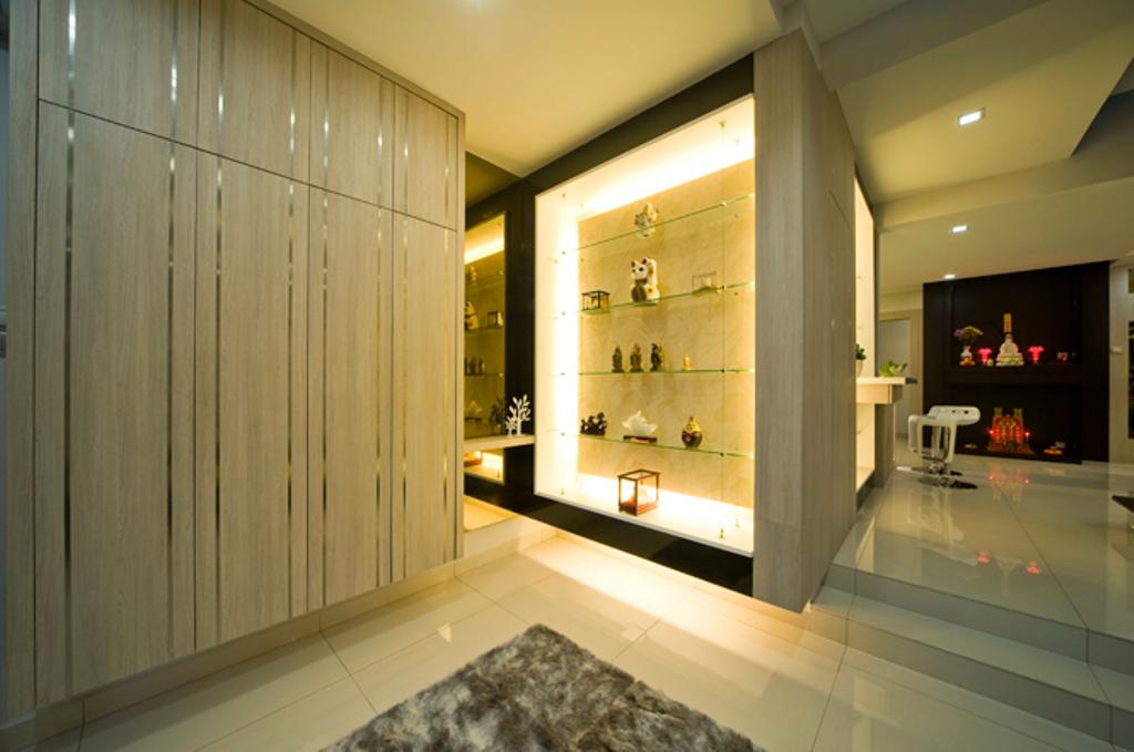Modern, Landed, Loke House Kajang, Interior Designer, Turn Design Interior, Contemporary, Indoors, Interior Design